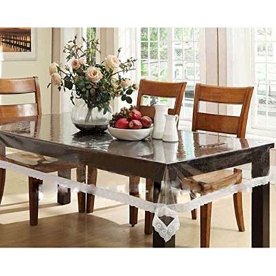 Transparent Dining Table Cover