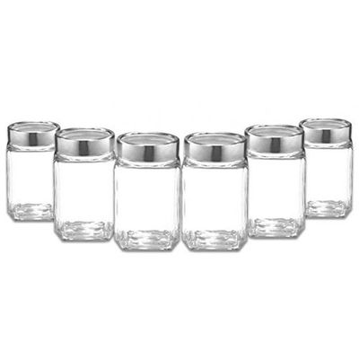Treo Cube Jar Set, 310ml, 6 Pieces
