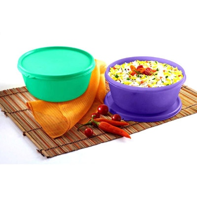 Tupperware Stainless Steel Bowl - 1.5 Litre And  2 Litre