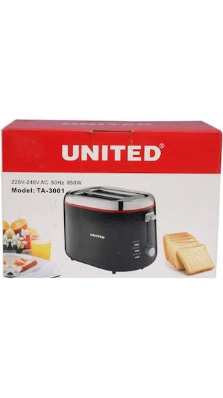 United TA-3001 2 Slice Pop Up Toaster