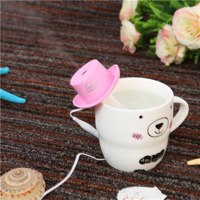 USB Mini Humidifier Cowboy Cap Office Household Air Purification Humidifier Aromatherapy Mist Maker