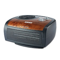 USHA FH1212 PTC Room Heater (Black & Brown)