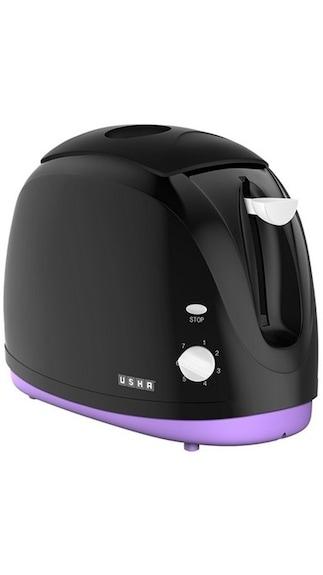 Usha 3320 2 Slice 800W Pop Up Toaster