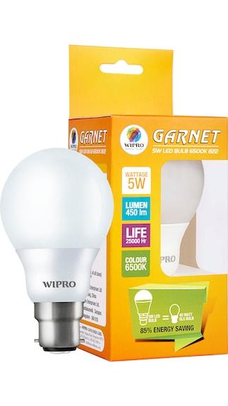 Wipro-Garnet-5W-6500K-LED-Bulb
