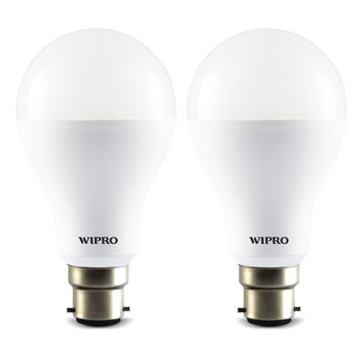 Wipro Garnet 14 Watt LED Bulb - 2 Pcs