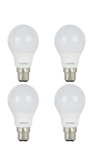 Garnet 7W LED Bulb (White, Pack of 4)