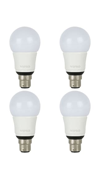 Wipro-Garnet-9W-LED-Bulb-(White,-Pack-of-4)