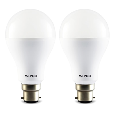 Wipro Garnet 12 Watt LED Bulb - 2 Pcs