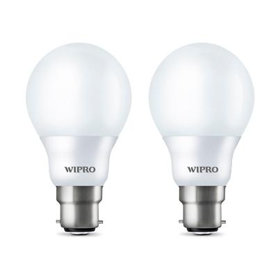 Wipro Garnet 7 Watt LED Bulb (Pack Of 2)