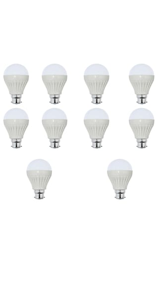 5W-Plastic-White-LED-Bulb-(Pack-of-10)-