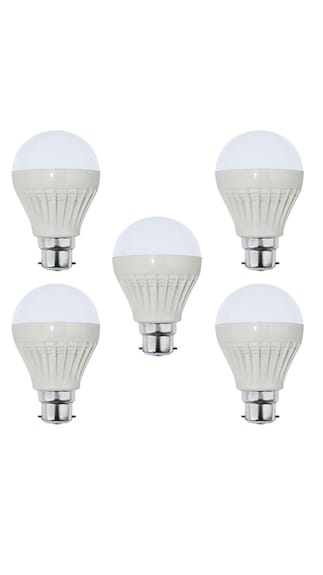 9W-Plastic-White-LED-Bulb-(Pack-of-5)-