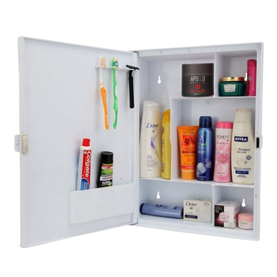 Bathroom cabinets buy wall cabinets online at best price for Zahab bathroom cabinets
