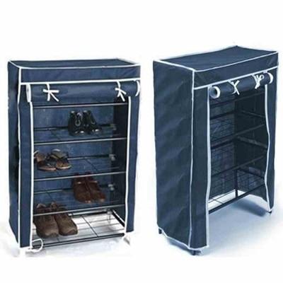 Shopper52 Portable Folding Shoes Rack