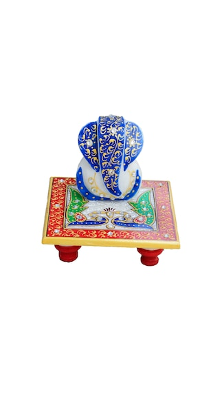 Diwali store!! Upto 70% Cashback On Electronics, Fashion & More  By Paytm | eCraftIndia Glorious Lord Ganesha with Peocock on Marble Chowki @ Rs.159