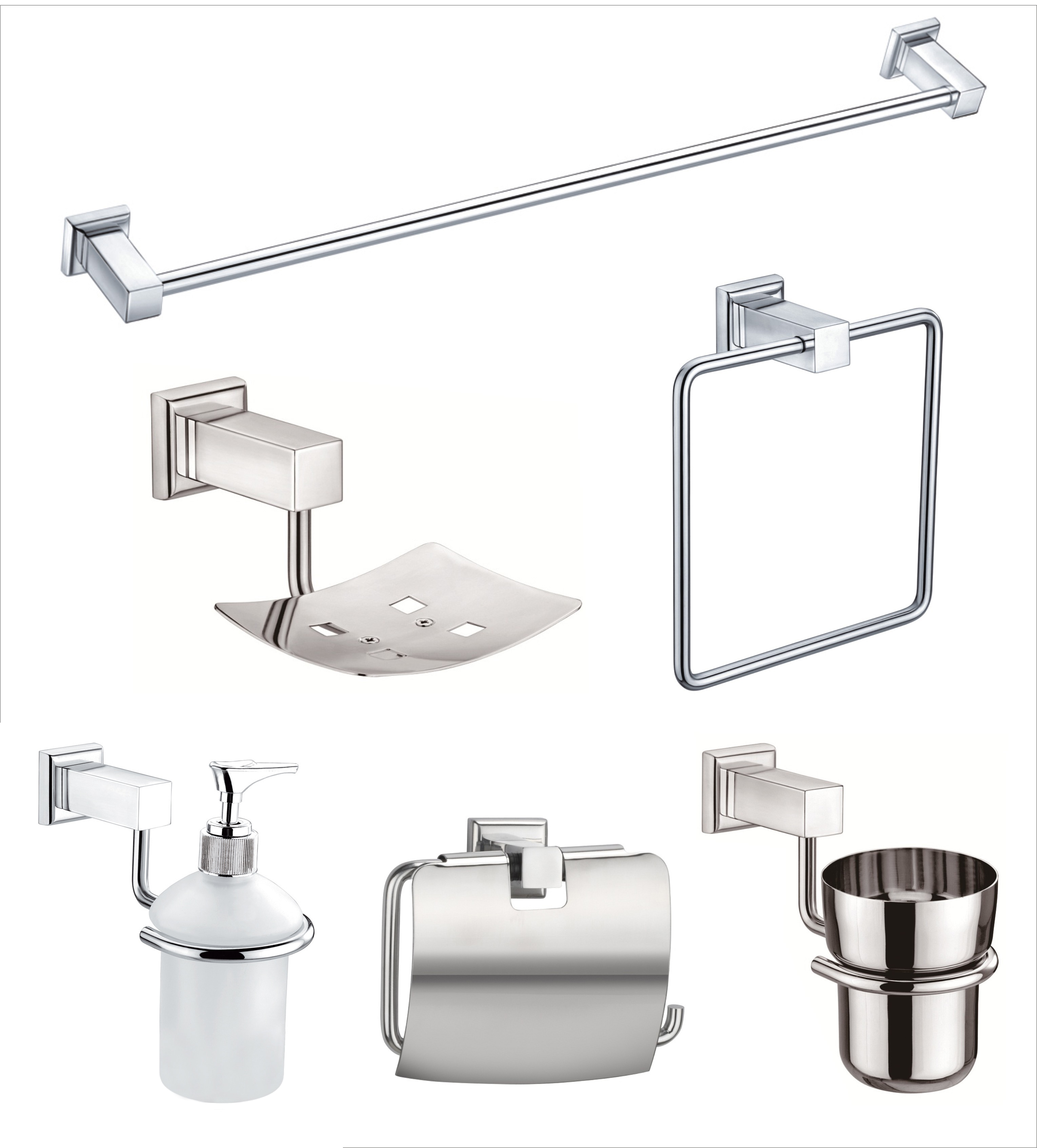 Bathroom utility combos for Stainless steel bathroom accessories