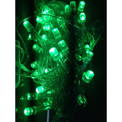 Blackberry Overseas 15 Metre Long Green Colored Decorative LED Lights