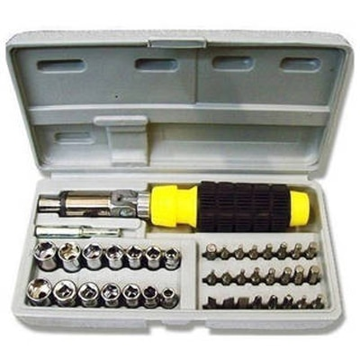 Buildskill 41 In 1 Pcs Tool Kit And Screwdriver Set...