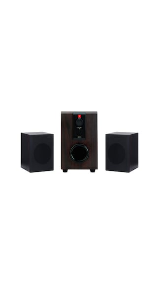 iBall-Raaga-2.1-Speaker-With-FM-(Wooden)