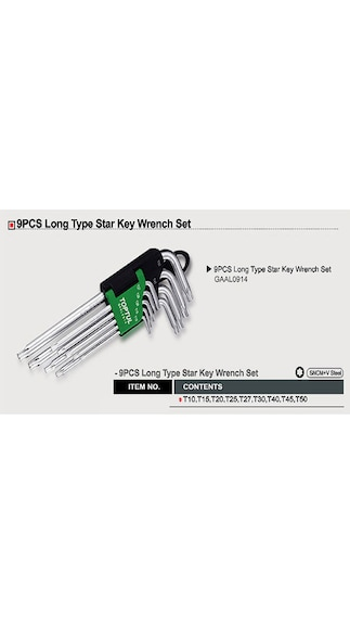 Long-Type-Star-Key-Wrench-Set-(9-pcs)