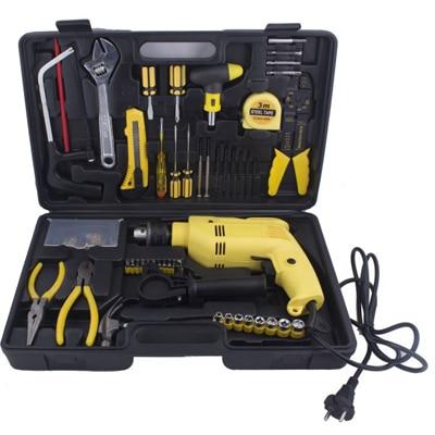 Buildskill BED2100TK 102 Pcs 13 mm Impact Drill Machine kit...