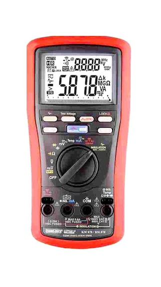 KM-878-Digital-Insulation-Tester