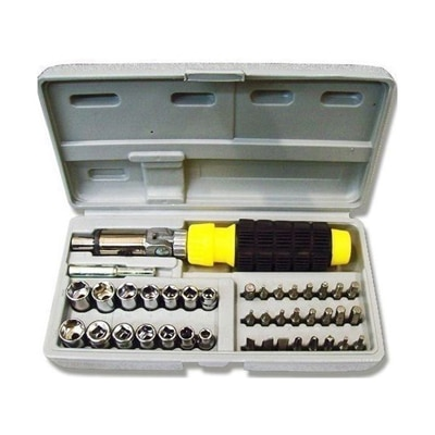 Synergy - 41 Pieces Multipurpose Tool Kit - For Home...