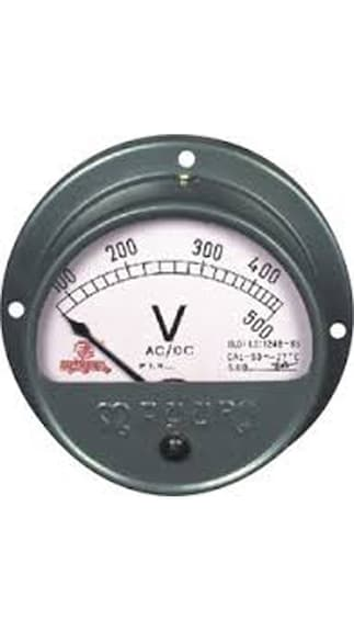 UNI-RPROV-Analog-Round-Projection-Volt-Meter