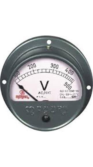 UNI-RPROV-Analog-Round-Projection-Volt-Meter