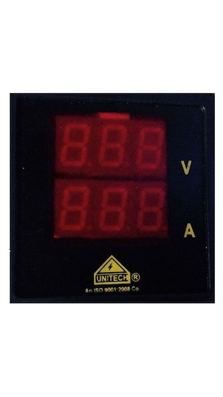 Dual-Display-Digital-Volt-Ampere-Meter-(72mm)