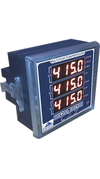 Unitech-Three-Phase-AVF-Meter-With-Run-Hour-and-RPM