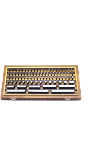 Grade-II-Individual-Calibration-Slip-Gauge-(Set-of-112-pcs)