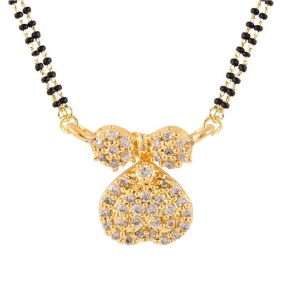 Archi Collectionz CZ Mangalsutra for women available at Paytm for Rs.75