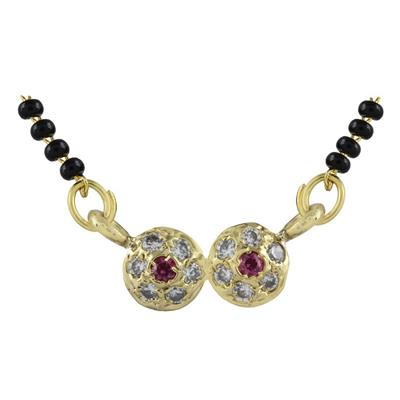 Archi Collection Designer CZ Mangalsutra available at Paytm for Rs.80