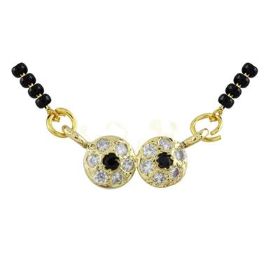 Archi Collection Designer CZ Mangalsutra available at Paytm for Rs.75