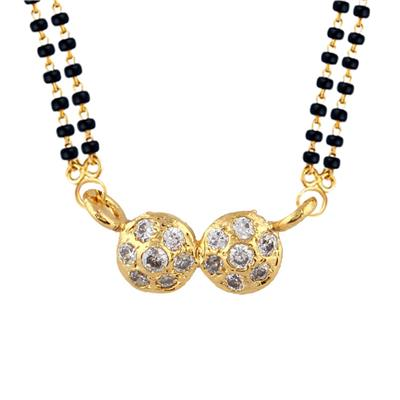 Archi Collection Designer CZ Mangalsutra available at Paytm for Rs.90