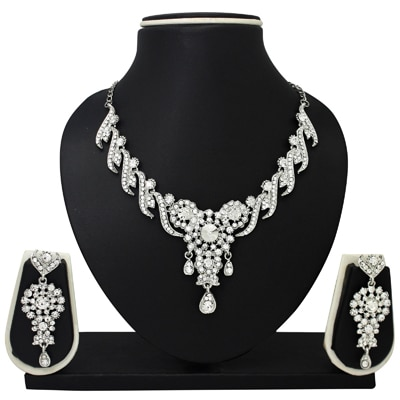 Atasi International Lucia Alloy Jewel Set