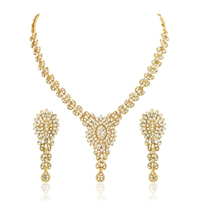 Atasi International Gold Necklace Set