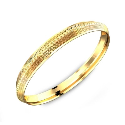 Mens Golden Brass Kada