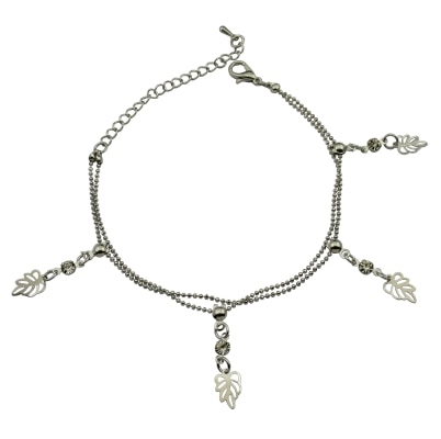 High Trendz Adjustable Anklet  For Women And Girls (1pc Anklet)