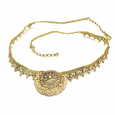 Jewelshingar Jewellery Waist Chain Belt Tagdi Kamarbandh For Women ( 14804-waist-chain )
