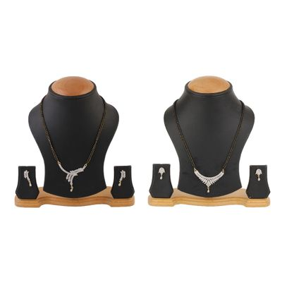 Mangalsutra Combo With Earring Set