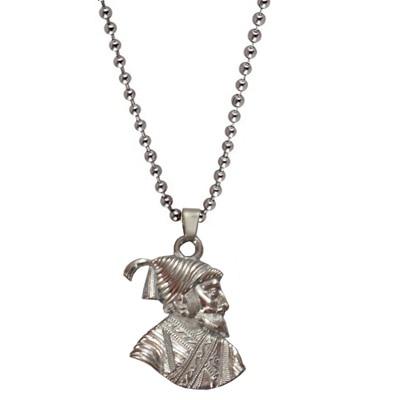 Men Style Silver Pendant