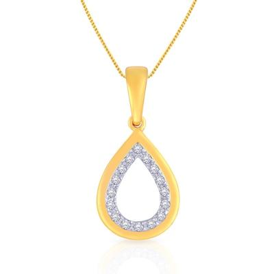 Malabar Gold & Diamonds  Mine Diamond Pendant P54561mp Pendants