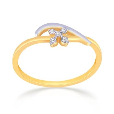 Malabar Gold & Diamonds  Mine Diamond Ring Rng8018 Rings