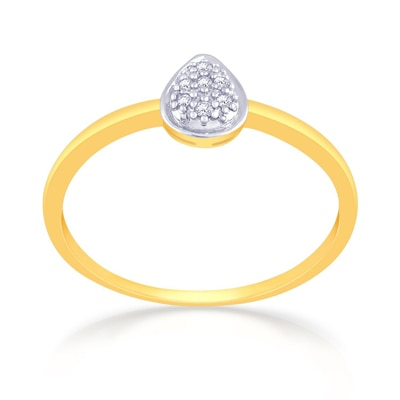 Malabar Gold & Diamonds  Mine Diamond Ring R58414 Rings