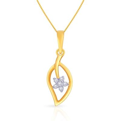 Malabar Gold and Diamonds Mine Diamond Pendent P651988
