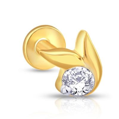 Malabar Gold & Diamonds  Mine Diamond Nosepin Np51168 Nose Pins