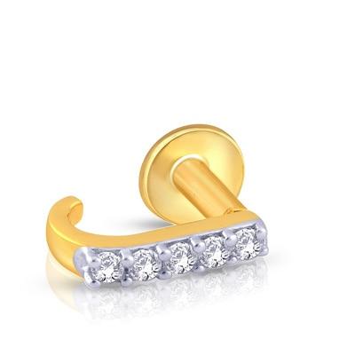 Malabar Gold & Diamonds  Mine Diamond Nosepin Np51255 Nose Pins