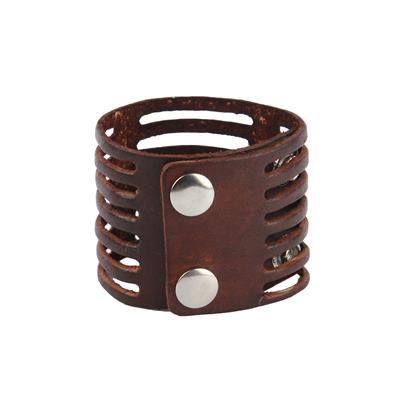 Mojeska Handcrafted Genuine Leather Fashionable Bracelet Wristband