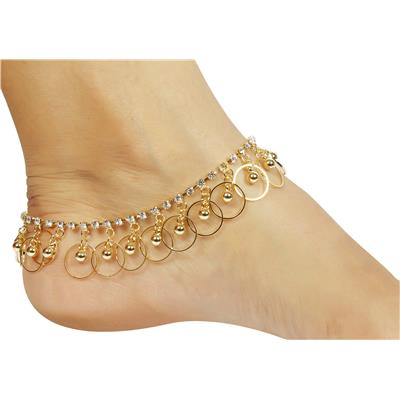 Much More Fashion Golden Anklet
